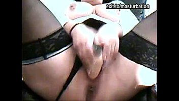 Wife wanted in both holes .. Fucking dick and dildo