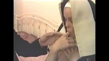 Bricklayer fucks a nun in the convent