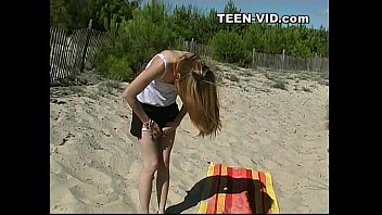 Voyeur teen nudist beach