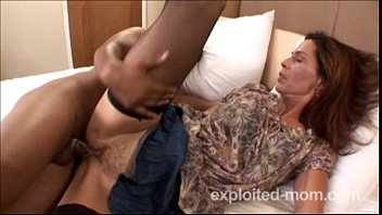 Ginger Banks finally takes black cock